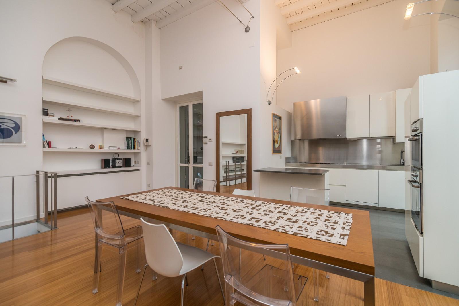 Cabina Armadio E Lavanderia : Vendita moderno ed elegante loft in zona navigli immobiliare mieli