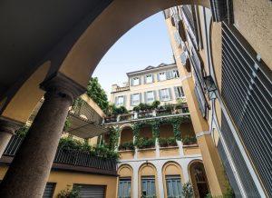 Elegante attico P.zza della Scala
